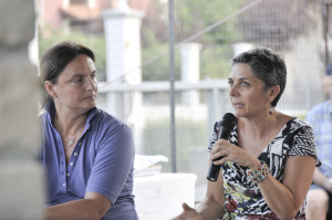 Con Emanuela Rosa-Clot
