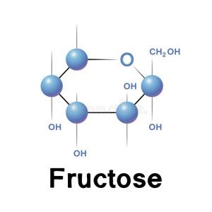 molecola-del-fruttosio-40168389